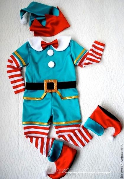 Новогодние костюмы гномиков своими руками