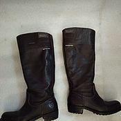 Винтаж handmade. Livemaster - original item Leather boots, vintage, size 37. Handmade.