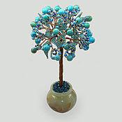 handmade. Livemaster - original item Wood turquoise