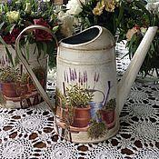 """Цветы и флористика ручной работы. Ярмарка Мастеров - ручная работа Лейка """"садовод"""". Handmade."""