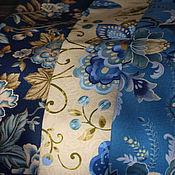 """Материалы для творчества ручной работы. Ярмарка Мастеров - ручная работа Ткань для пэчворка """"Диковинные цветы"""". Handmade."""