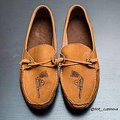 Обувь ручной работы. Ярмарка Мастеров - ручная работа Мокасины Дикий Запад.. Handmade.