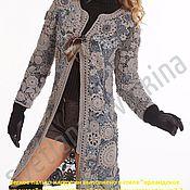 Одежда ручной работы. Ярмарка Мастеров - ручная работа Ажурное пальто. Handmade.