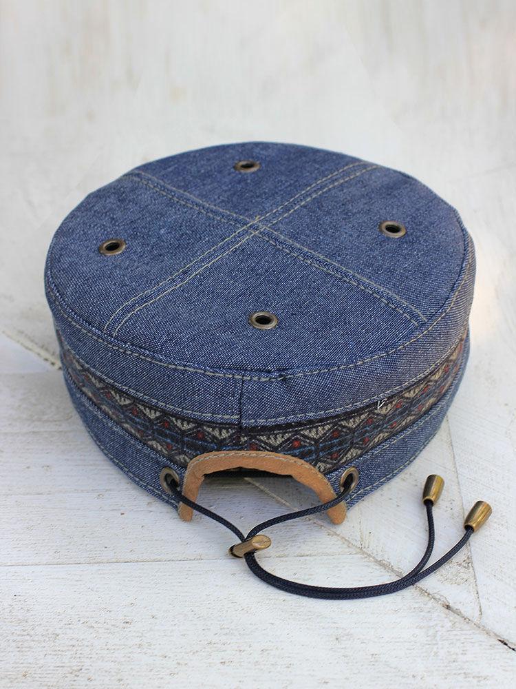 24d148b5c030e Bluggae Hats handmade. African cap kufi skullcap Twilight Blues TLB-HATS-03.  Bluggae