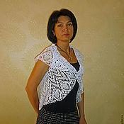 Одежда ручной работы. Ярмарка Мастеров - ручная работа Ажурный жилет. Handmade.