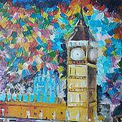 Картины ручной работы. Ярмарка Мастеров - ручная работа Лондон. Handmade.