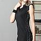 Платья ручной работы. Заказать платье Gelo. Strygina (Strygina). Ярмарка Мастеров. Платье, черное платье, офисное платье