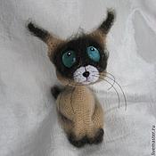 Мягкие игрушки ручной работы. Ярмарка Мастеров - ручная работа Сиамский Котик. Handmade.