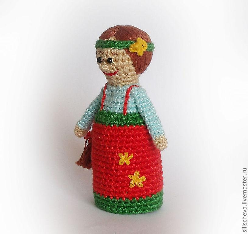 Пальчиковая кукла мастер класс