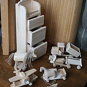 Для дома и интерьера ручной работы. Ярмарка Мастеров - ручная работа Мини комодик и другие игрушки. Handmade.