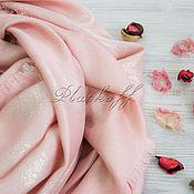 Аксессуары handmade. Livemaster - original item Pink scarf with skulls made of Alexander MCQUEEN fabric. Handmade.