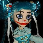 Куклы и игрушки ручной работы. Ярмарка Мастеров - ручная работа Арлекино под маской Мальвины. Handmade.