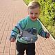 Одежда для мальчиков, ручной работы. джемпер пуловер По дорогам Италии вязаный детский для мальчика. Евгения  Черевкова (EvgeniaManKi). Ярмарка Мастеров.