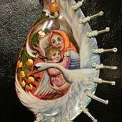"""Украшения ручной работы. Ярмарка Мастеров - ручная работа Кулон """"Гуси - лебеди"""". Handmade."""