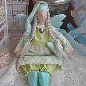 """Куклы и игрушки ручной работы. Ярмарка Мастеров - ручная работа Ангел добрых снов в стиле Тильда """"Фисташковые сны"""". Handmade."""