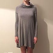 Одежда ручной работы. Ярмарка Мастеров - ручная работа Асимметричное трикотажное платье. Handmade.