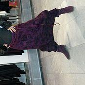 Одежда ручной работы. Ярмарка Мастеров - ручная работа юбка-брюки валяные. Handmade.