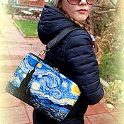 Сумки и аксессуары handmade. Livemaster - original item Bag wooden Starry night. Handmade.