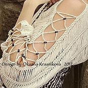 Одежда ручной работы. Ярмарка Мастеров - ручная работа Болеро-шраг Перекресток. Handmade.