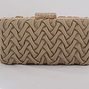 Сумки и аксессуары handmade. Livemaster - original item Leather clutch Bourbon light. Handmade.