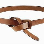 Straps handmade. Livemaster - original item Leather women`s belt-belt (without buckle). Handmade.