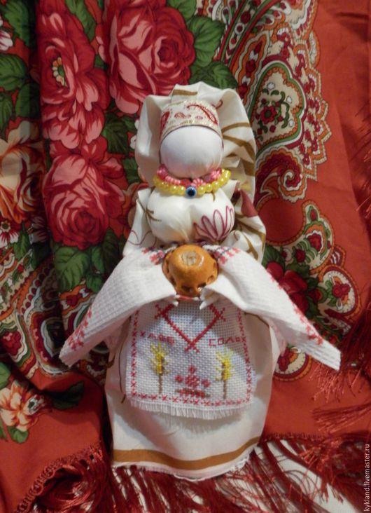 Народные куклы ручной работы. Ярмарка Мастеров - ручная работа. Купить Обереговая кукла Берегиня хлебосольная. Handmade. Берегиня дома