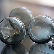 """Украшения ручной работы. Ярмарка Мастеров - ручная работа Комплект украшений """"Дымка"""" венецианское стекло. Handmade."""