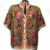 Одежда ручной работы. Ярмарка Мастеров - ручная работа Блузка из ППП Мадонна. Handmade.