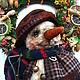 Мишки Тедди ручной работы. Ярмарка Мастеров - ручная работа. Купить Снеговик с лопатой ..... ;--). Handmade. Белый