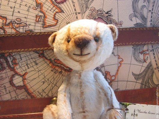 Мишки Тедди ручной работы. Ярмарка Мастеров - ручная работа. Купить Мишка тедди 20 см. Handmade. Белый