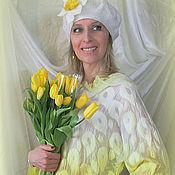 Одежда ручной работы. Ярмарка Мастеров - ручная работа Валяная блузка Солнечное настроение. Handmade.
