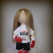 Куклы и игрушки handmade. Livemaster - original item Interior textile doll KATERINA.. Handmade.