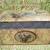 """Для дома и интерьера ручной работы. Ярмарка Мастеров - ручная работа """"Прекрасные звуки весны"""" короб с крышкой. Handmade."""