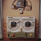 Для дома и интерьера ручной работы. Ярмарка Мастеров - ручная работа часы-панно настенные для интерьера 2 вида. Handmade.