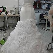 Свадебный салон ручной работы. Ярмарка Мастеров - ручная работа свадебное платье  для Натальи. Handmade.