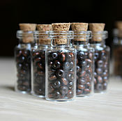 Материалы для творчества handmade. Livemaster - original item Wooden beads dark 3 mm 500pcs. Handmade.