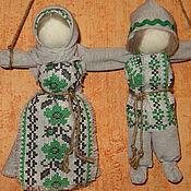 Куклы и игрушки ручной работы. Ярмарка Мастеров - ручная работа Кукла-оберег Неразлучники. Handmade.