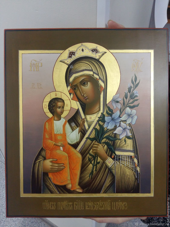 Образ Пресвятой Богородицы Неувядаемый Цвет, Иконы, Ковров,  Фото №1