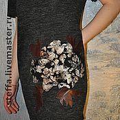 """Одежда ручной работы. Ярмарка Мастеров - ручная работа Платье """"Удивительный цветок"""". Handmade."""