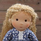 Куклы и игрушки handmade. Livemaster - original item MIA, a Waldorf doll, 38 cm. Handmade.