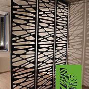 Дизайн и реклама ручной работы. Ярмарка Мастеров - ручная работа Декоративная перегородка из металла. Handmade.