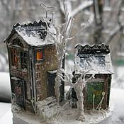 Куклы и игрушки ручной работы. Ярмарка Мастеров - ручная работа Зимний дворик3. Handmade.