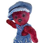 """Куклы и игрушки ручной работы. Ярмарка Мастеров - ручная работа """"Филя"""" 21см Мишка из винтажного плюша. Handmade."""