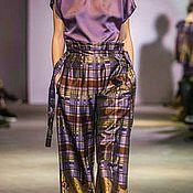Одежда ручной работы. Ярмарка Мастеров - ручная работа Костюм брючный фиолет. Handmade.