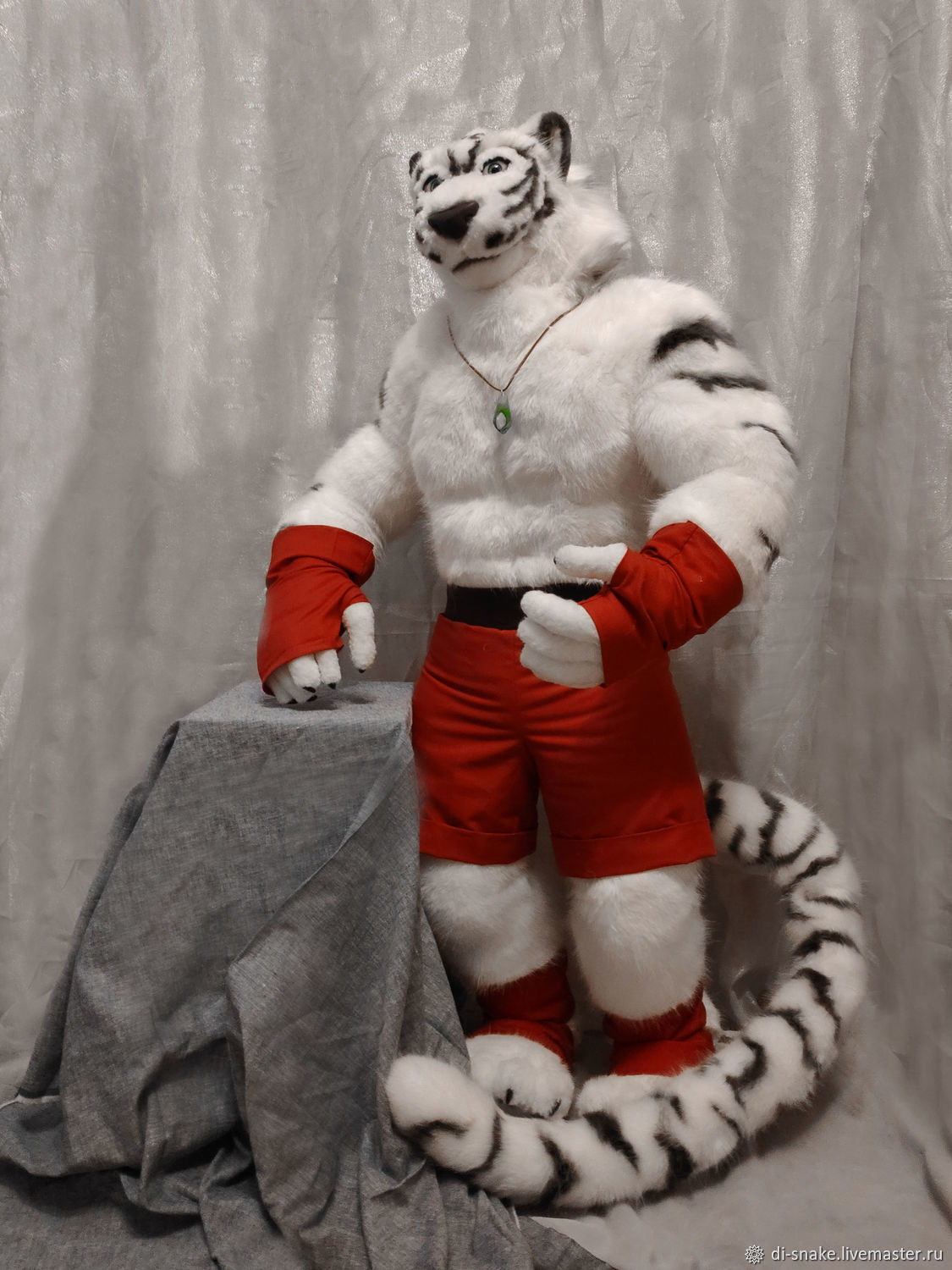 Furry Tiger large (115 cm), Stuffed Toys, Moscow,  Фото №1