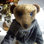 Куклы и игрушки ручной работы. Ярмарка Мастеров - ручная работа Мишка Тедди. А я уеду в Лондон.. Handmade.