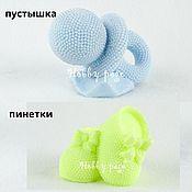 Материалы для творчества handmade. Livemaster - original item Silicone Soap Mold Pacifier, Booties. Handmade.