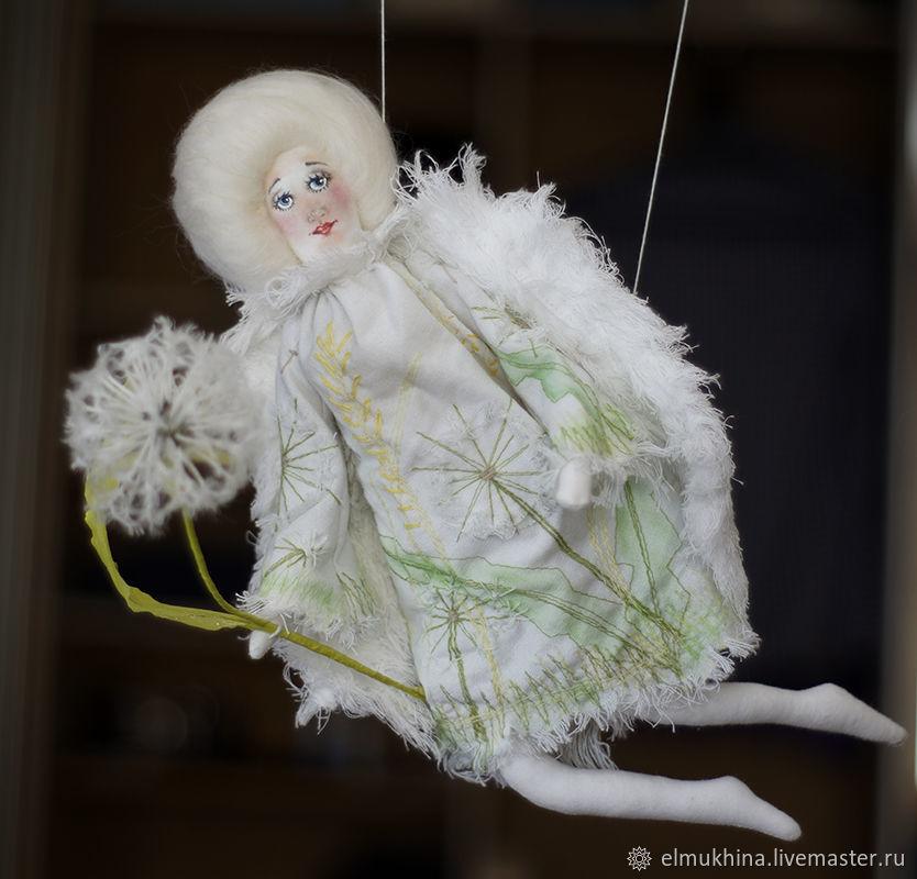 Ангел с одуванчиком, Куклы, Москва, Фото №1