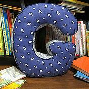 Для дома и интерьера ручной работы. Ярмарка Мастеров - ручная работа буква подушка ( буква мягкая из ткани ). Handmade.