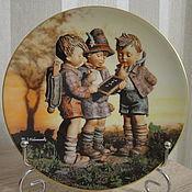 Коллекционная тарелка Hummel. Германия